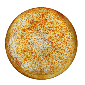 extra cheese pizza